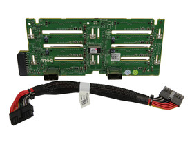 HDD Backplane 0MX827 0RN696 Dell PowerEdge R710 8x HDD 2.5'' Cable