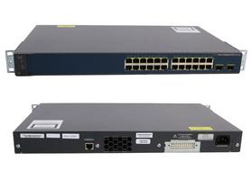 Switch WS-C3560V2-24TS-S R Cisco Catalyst 3560 V2 Series 24Ports 100Mbits 2Ports 1000Mbits SFP Managed Rails