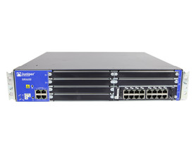 Firewall SRX650-BASE-SRE6-645AP SRX600-SRE6H REV. 23 SRX-GP-16GE 2X EDPS-645AB A R Juniper SRX650 4Ports 1000Mbits Module XPIM With 16Ports 1000Mbits And SRE 6 Module And 2x PSU 645W Managed Rails