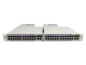 Switch 2X OS6250-P24 2X PS-225W-AC-P R Alcatel-lucent OS6250-P24 2x 24Ports 100Mbits And 2x 2Ports 1000Mbits And 2x 2Ports SFP 1000Mbits Combo 2x PS 225W Managed Rails