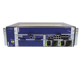 Firewall SRX1400-CHAS-A SRX1K-NPC-SPC-1-10-40 SRX1K-RE-12-10 SRX1K-SYSIO-GE 2X DS-1050-3-001-FFR R INF1 Juniper SRX1400 6Ports 1000Mbits And 6Ports SFP 1000Mbits 2x PSU 1000W Managed Rails